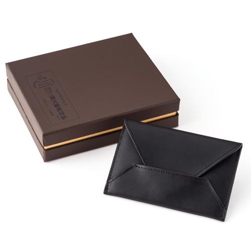 二宮五郎商店KAWA-ORIGAMI(R)ホーウィンレザー「クロノス」カードケース