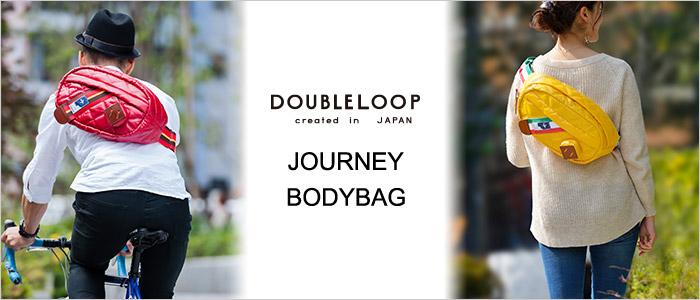 【DOUBLELOOP】JOURNEY BODY BAG