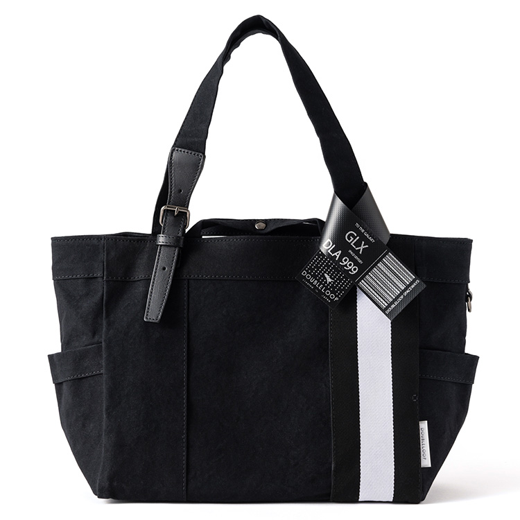 "【DOUBLELOOP】JOURNEY resort tote ""MEDIUM PLUS""「SPACE」/帆布トートバッグ"