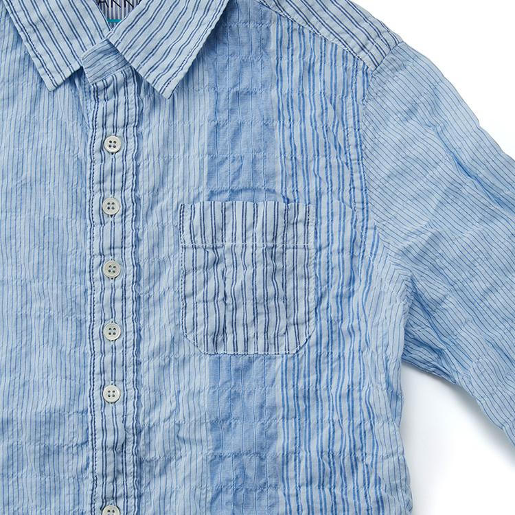 【DOPE&DRAKKAR】Fab Garden ストライプ ライトシャツ