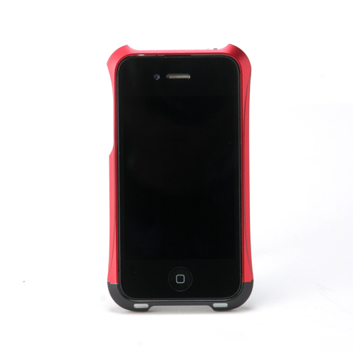 【REAL EDGE】C-2 for iPhone4/4S / black&red