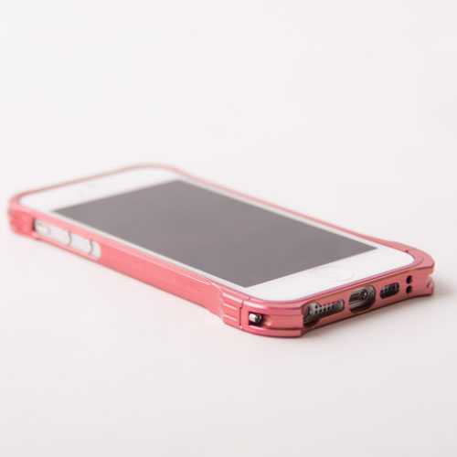【REAL EDGE】C-1 for iPhone SE/5/5s/Plum Pink