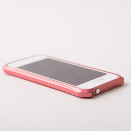 【REAL EDGE】C-2 for iPhone SE/5/5s/Plum Pink
