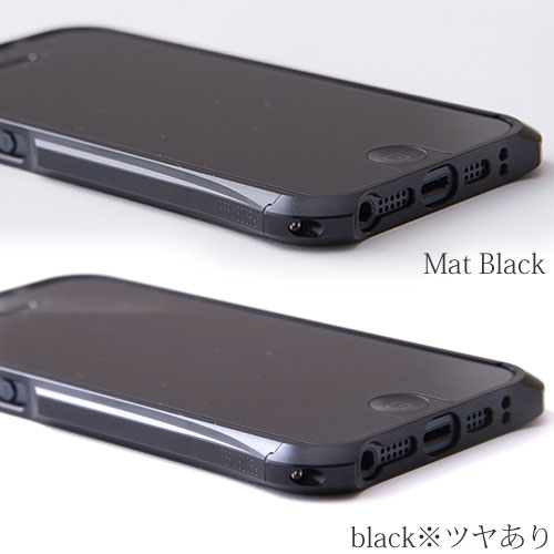 REAL EDGE C-1 for iPhone5/Mat Black
