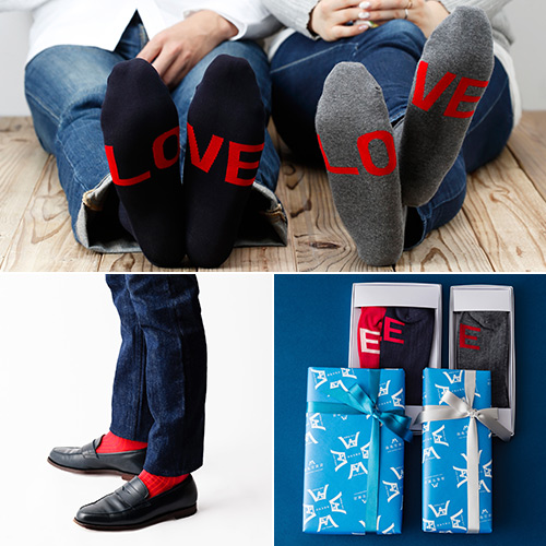 【BEAMS】LOVE SOCKS