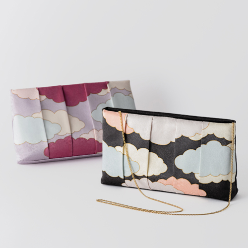 【tomihiro】YUZEN CLUTCH BAG 瑞雲 Fortunate Clouds