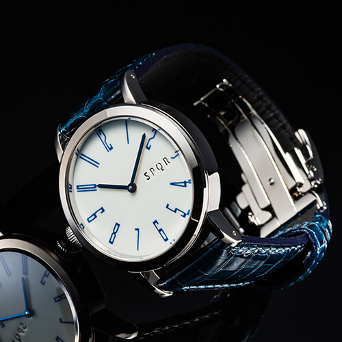 SPQR arita 機械式腕時計 「秋津」有田焼裏蓋バージョン 9本限定