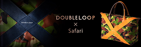 DOUBLELOOP×Safari トートバッグ