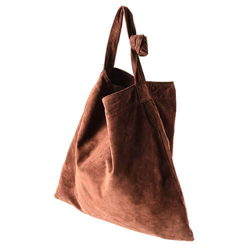 【leatheria】washable tie shoulder bag