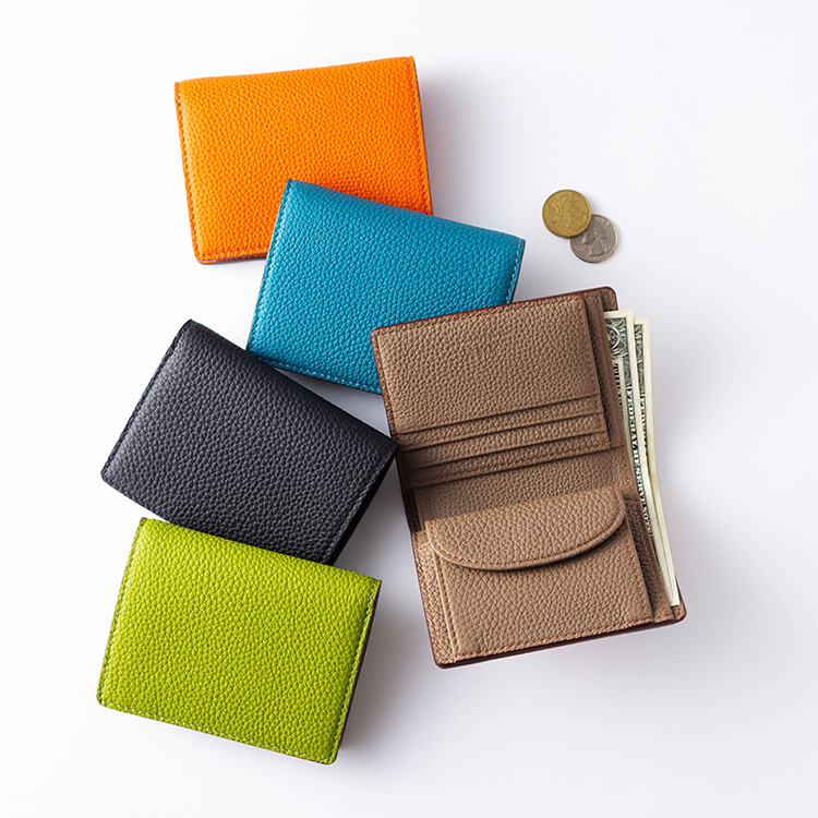 【大峽製鞄】二つ折り財布
