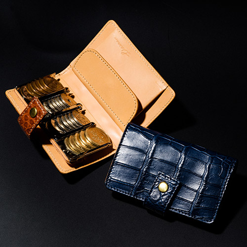 【LITSTA】Coin Wallet 2 Crocodile