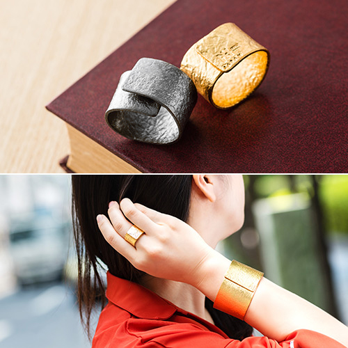 NAGAE+】TIN BREATH Ring