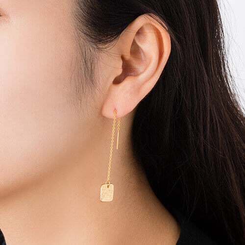 【NAGAE+】TIN BREATH Pierced earring