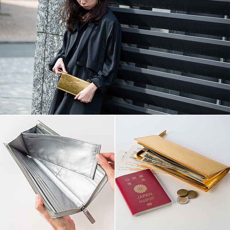 【NAGAE+】TIN BREATH Travel Purse