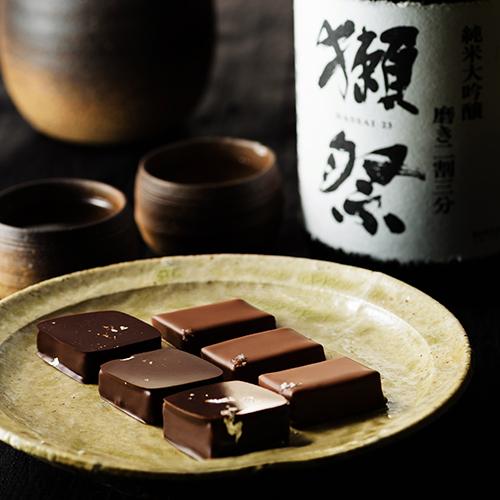 【ショコラティエ パレドオール】獺祭ショコラ