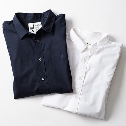 【FINGER FOX AND SHIRTS】Thumb 60/-Typewriter Shirts