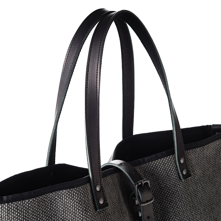 【THE CANVET】Charcoal Tote Bag