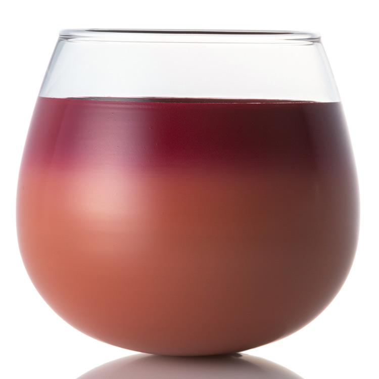 漆塗りのガラスの器 「揺花 タンブラー」