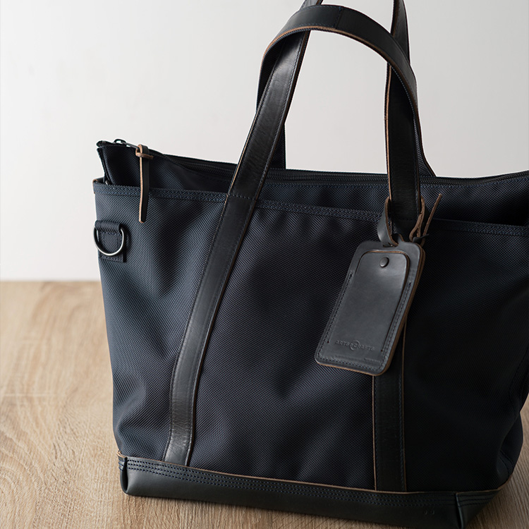 【ARTS&CRAFTS】BLACK NYLON / 2WAY TOTE