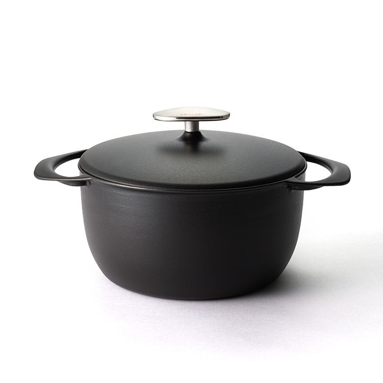 UNILLOY 鋳物ホーロー鍋 深型20cm