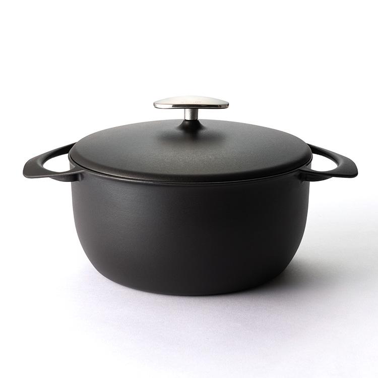 UNILLOY 鋳物ホーロー鍋 深型22cm