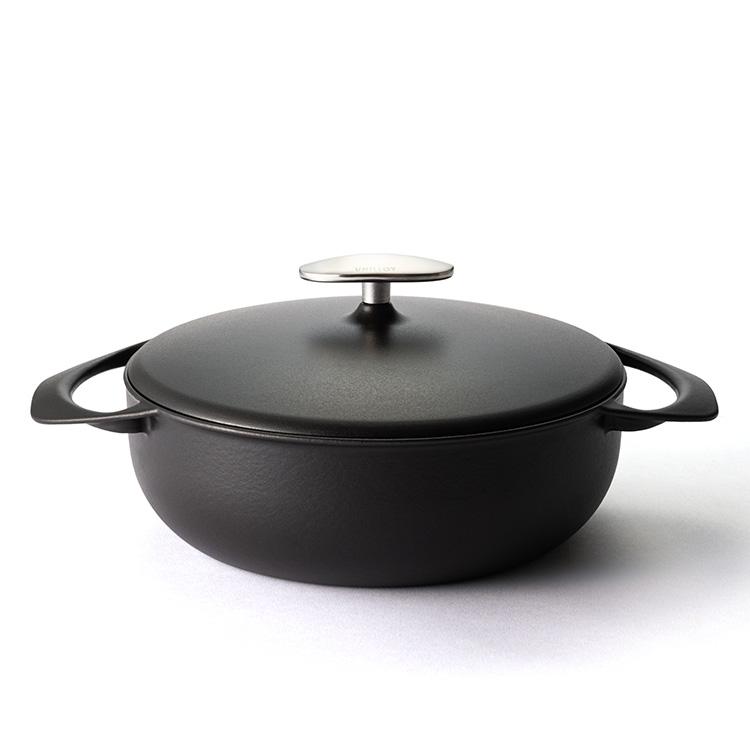 UNILLOY 鋳物ホーロー鍋 浅型22cm