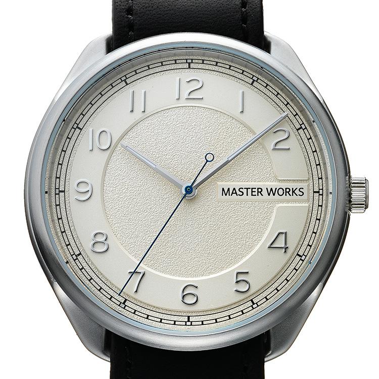 32c700e047 【MASTER WORKS】Quattro/003 三針腕時計 ...